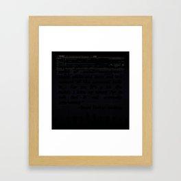 Tax Law Framed Art Print