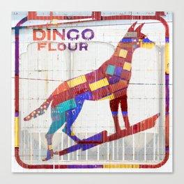 Dingo Flour Canvas Print