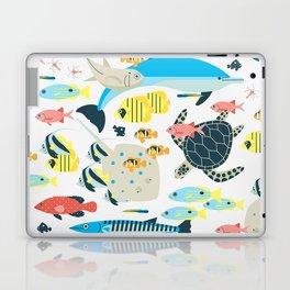 Coral reef animals Laptop & iPad Skin