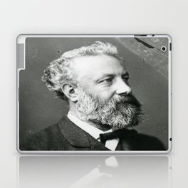portrait of Jules Verne by Nadar Laptop & iPad Skin