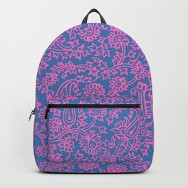 Indian Wood Block Pattern 2 Backpack
