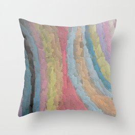 Embossed Chalk Throw Pillow