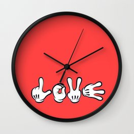 Micky Love Wall Clock