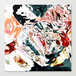 Someone dropped my painting Canvas Print