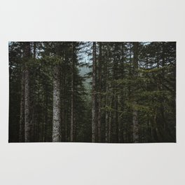 Oregon Trees Rug