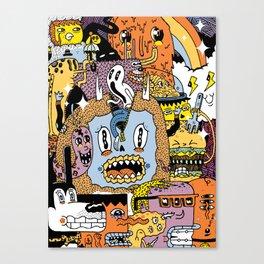 The Escape Plan Canvas Print