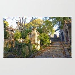 Autumn at Père Lachaise I Rug