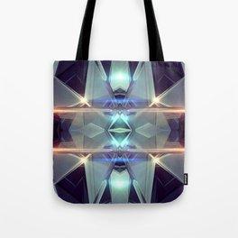 Abstract angular glow Tote Bag