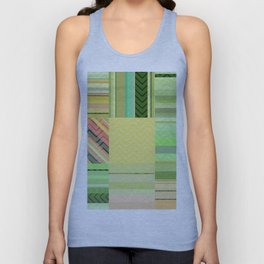 Greens and yellows fantasy Unisex Tank Top