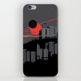 apocalypse city iPhone Skin