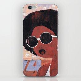 Afro 74 iPhone Skin
