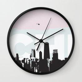 Chi Wall Clock