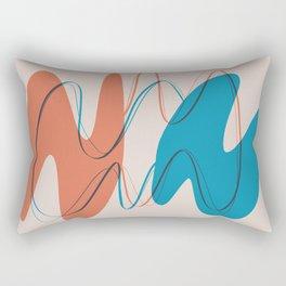 Twin Figures Rectangular Pillow