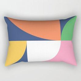 Abstract Geometric 17 Rectangular Pillow