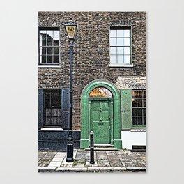 London England Architecture. Jack The Ripper Neighborhood. Canvas Print