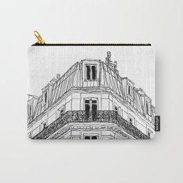 Parisian Facade Carry-All Pouch