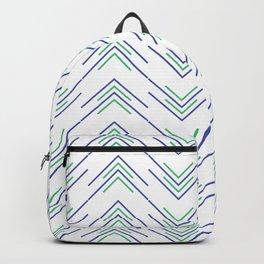 Sharp ZigZag Pattern Backpack