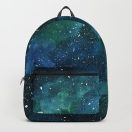 Emerald Galaxy Backpack