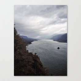 The Infectious Melancholy Canvas Print