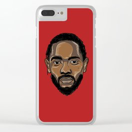 Kung Fu Kenny Clear iPhone Case