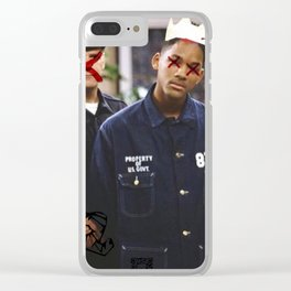 """""""THEY"""" SEEK TO DESTROY THE KING IN U.S. Clear iPhone Case"""