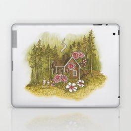The cottage at the edge of the forest Laptop & iPad Skin