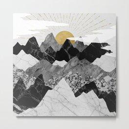 Sun rise Metal Print