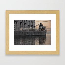 Tanker Framed Art Print