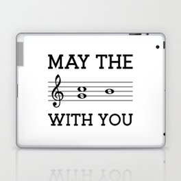 May the 4th be with you (light colors) Laptop & iPad Skin