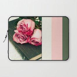 Rose Book Laptop Sleeve