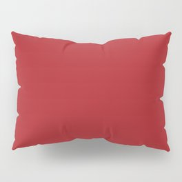 Color Red Pillow Sham