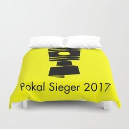 Pokal Sieger 2017 ! - Black Edition Duvet Cover