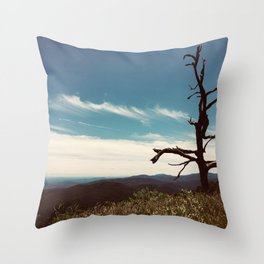 The Cool Dancer Tree Throw Pillow