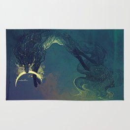 The Fox who talked the Moon and the Stars Rug