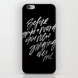 Reckless Love -- Cory Asbury & Bethel Music iPhone Skin