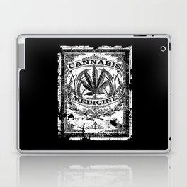Cannabis Medicine - Old Retro Label-Medical marijuana-Pop Culture Laptop & iPad Skin