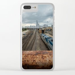 Traveling to Chicago Clear iPhone Case
