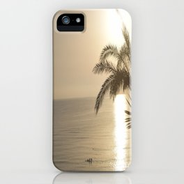 Tunisian African Beach Sunrise iPhone Case