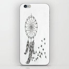Catch my dreams iPhone Skin