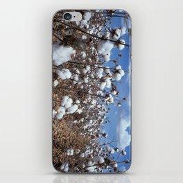 Cotton Field iPhone Skin