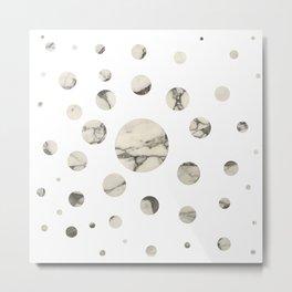 Marble dots I. Metal Print