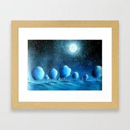Moonlight Framed Art Print