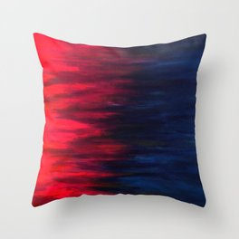 Collision- Together Forever Throw Pillow