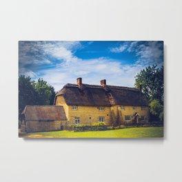 English Country House Metal Print