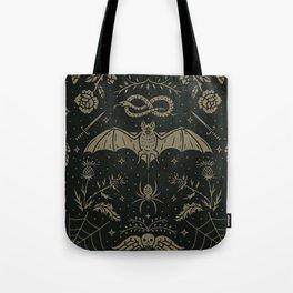 Cemetery Nights Tote Bag