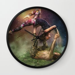 Cosmic Unity Wall Clock