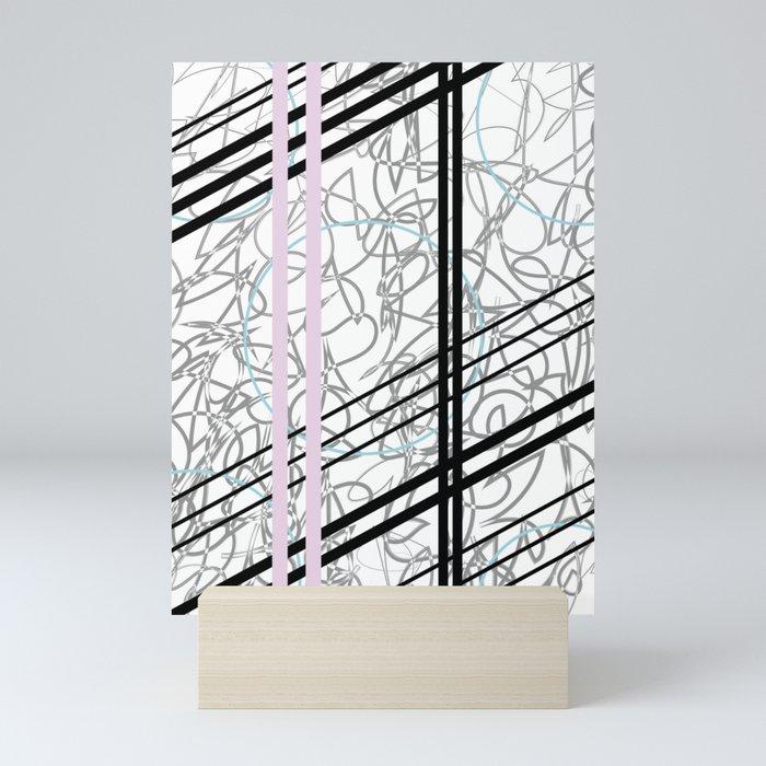 Faded Lilac Mini Art Print