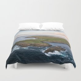 St. John's Point, Co. Donegal Duvet Cover