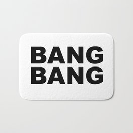 Bang Bang Bath Mat