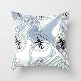 Explore and Discover Throw Pillow